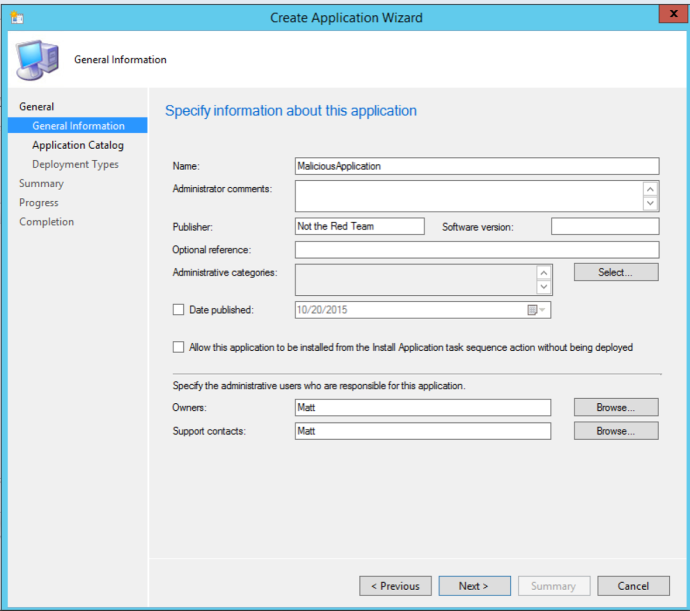 sccm_application_general_info
