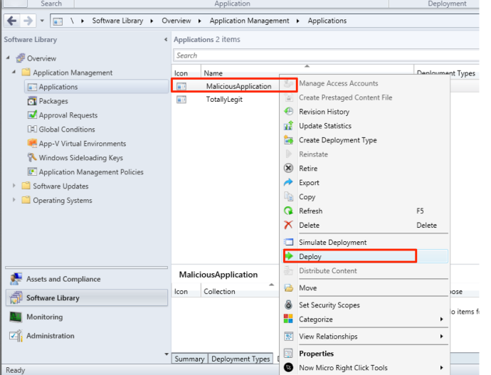sccm_deploy_application