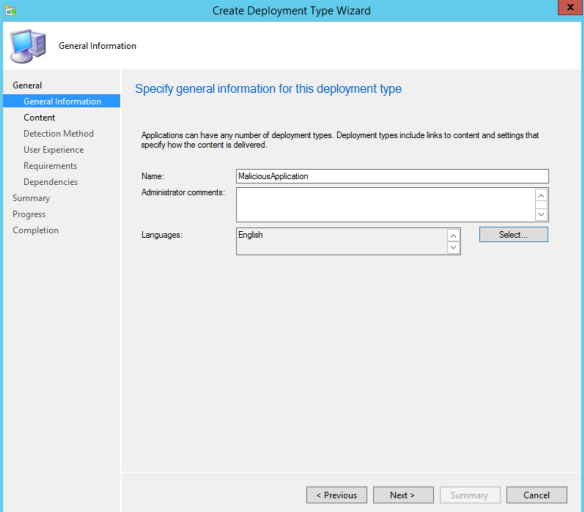 Targeted Workstation Compromise with SCCM   enigma0x3