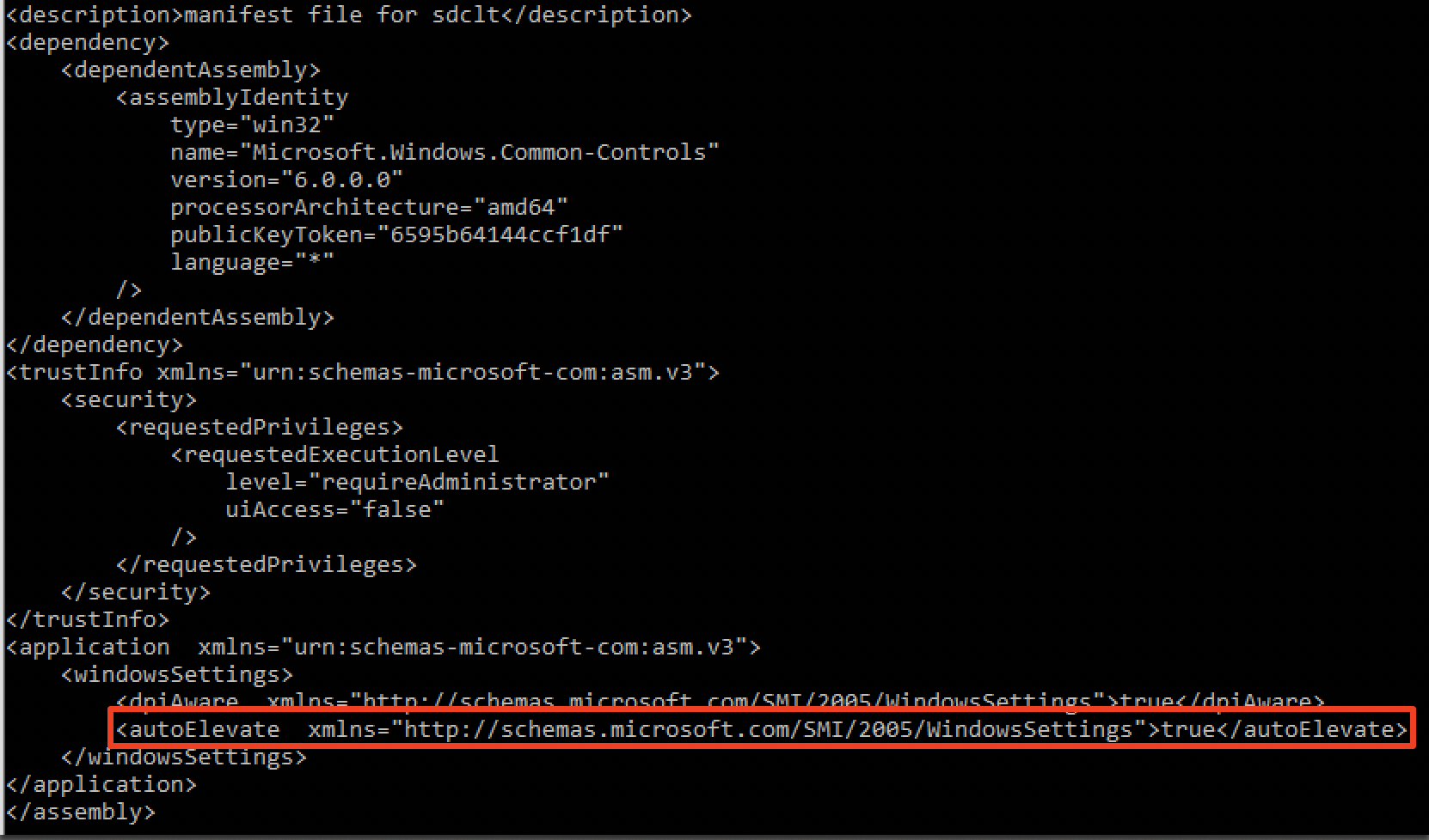 """Fileless"""" UAC Bypass using sdclt exe 